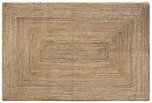 tapis rectangulaire hempy mydecolab With tapis en fibres naturelles