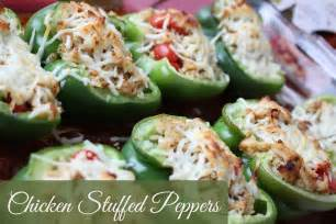 Chicken Stuffed Peppers Recipe