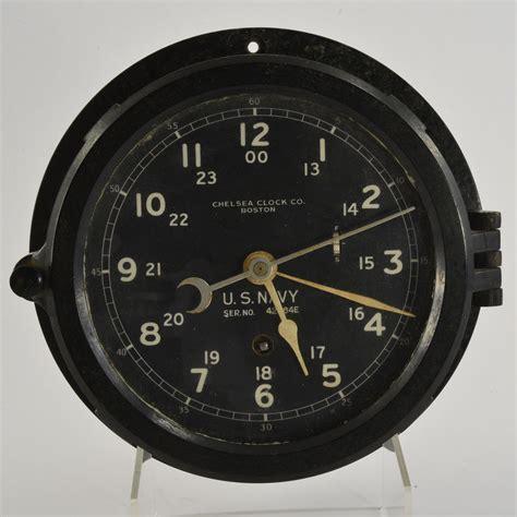 chelsea ships clock antique chelsea navy ship s clock boston u s navy ship s 2138