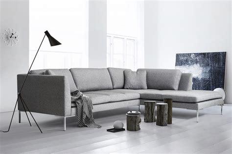 Ecksofa Modern Design by Ecksofa Felix Modernes Elegantes Designer Sofa Stoff Grau