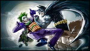 Batman Vs Joker by clemper on DeviantArt