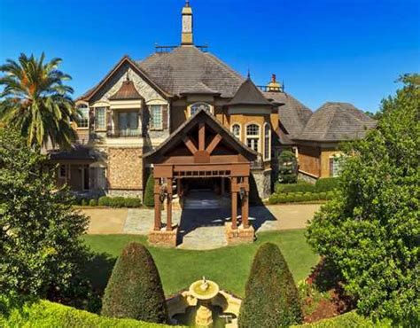 square foot french country mansion  ormond beach