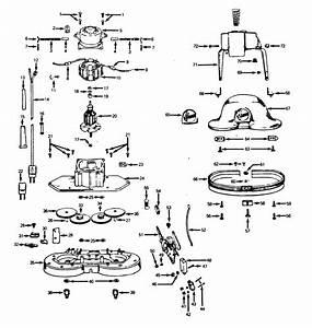 Hoover Model 5350 Vacuum  Upright Genuine Parts