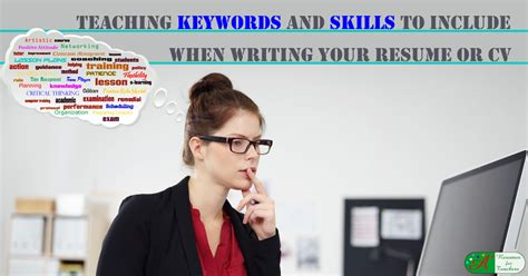 Teaching Keywords And Skills To Include When Writing Your. Clothing Store Resume. Sales Associate Responsibilities Resume. Template For Resumes. Sample Nurses Resume. Entry Level Consulting Resume. Network Engineer Resume Example. Marketing Research Resume. Driver Resume Samples Free