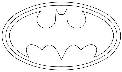 Batman Logo Coloring Sheets Bltidm
