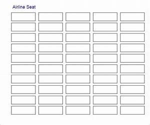 7  Printable Free Seating Chart Templates