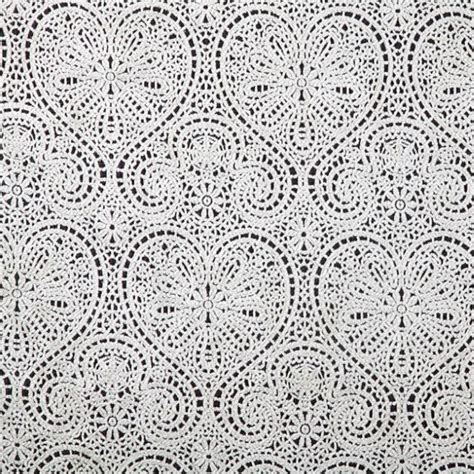 Lace Drapery Fabric by Vintage Hearts Lace Fabric Fabric Uk