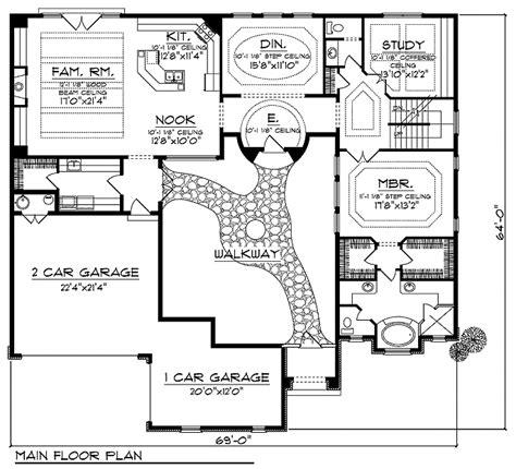 Tuscan Plan88205 Floor Plan  Tuscany Homes