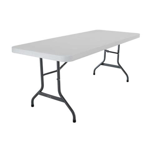 6 foot table in inches lifetime 6 foot utility table with 72 by 30 inch molded