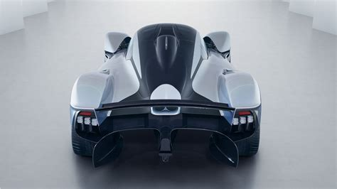 aston martin valkyrie rear wallpaper hd car