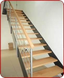 Stahltreppe Mit Holzstufen : innentreppen stahl ~ Michelbontemps.com Haus und Dekorationen