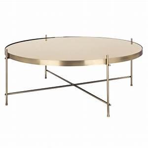 Table Basse Ronde Maison Du Monde : table basse ronde valdo or l achetez nos tables basses ronde valdo or l rdv d co ~ Teatrodelosmanantiales.com Idées de Décoration