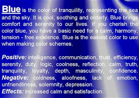 modern interior psychology  color