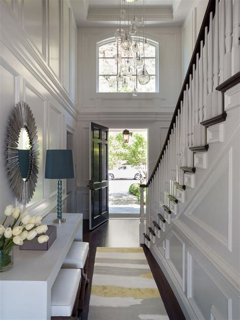 foyer lighting fixtures Entry Transitional with ceiling