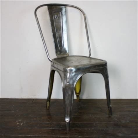 tolix chair cushion uk vintage stripped and polished steel tolix chair
