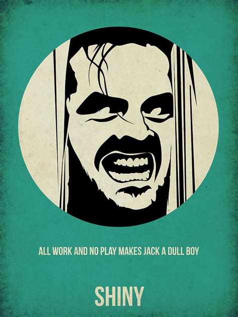 The Shining Poster Painting By Naxart Studio