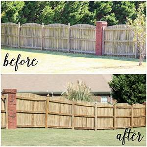 How to paint a fence fast page 3 of 6 how to build it for Clear fence paint
