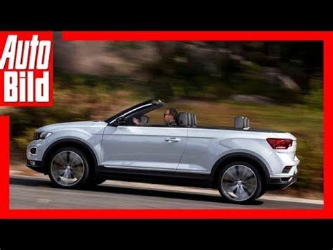 volkswagen t roc cabrio 2020 zukunftsaussicht vw t roc cabrio 2020 details erkl 228 rung
