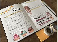 7 Summer Spread Ideas for Bullet Journals Mom Spark