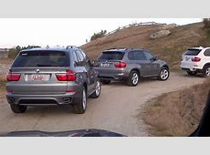 BMW X5 Off Road Course YouTube