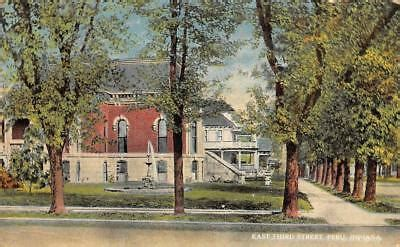 PERU, IN Indiana EAST THIRD STREET~Large Homes MIAMI ...