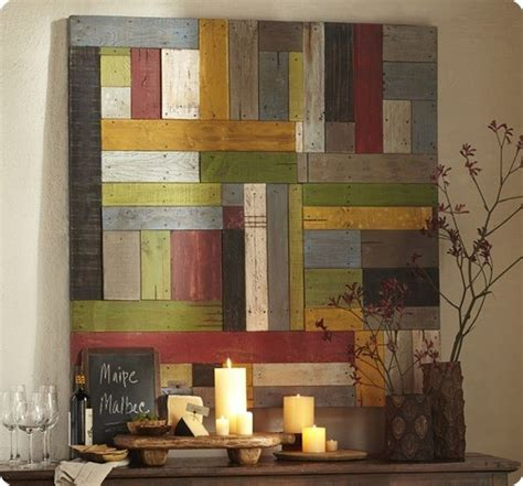 Pottery Barn Wall Decor by Diy Wall D 233 Cor From Coffee Stirrers