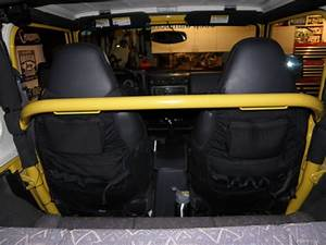 Rock Hard 4x4 U2122 Straight Across Front Harness Bar For Jeep Wrangler Tj And Unlimited Lj 1997