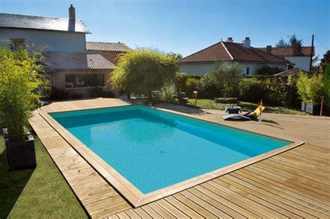 piscine bois maeva 1000 rectangulaire prof 1 50 m piveteau