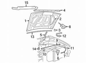 Ford Ranger Hood Insulation Pad  Steel  Insulator  Components  Body