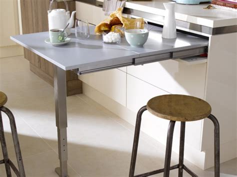 table meuble cuisine meuble cuisine avec table rabattable table basse table