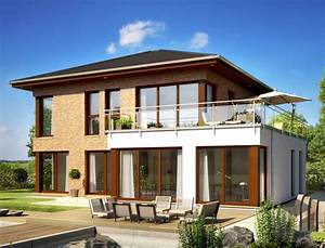 Fertighaus Mit Klinkerfassade : 57 besten stadtvillen villa modern und verspielt bilder auf pinterest ~ Markanthonyermac.com Haus und Dekorationen