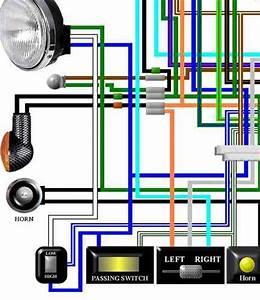 Cx500  U0026 Cx650 Colour Electrical Wiring Diagrams