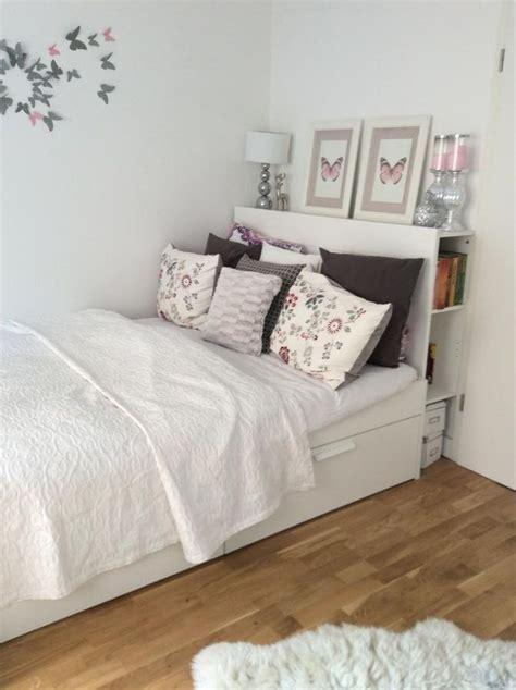 Ikea Bett Kissen by Die Besten 25 Kleines Schlafzimmer Einrichten Ideen Auf