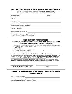 9 proof of residency letter from family member joblettered how to write a landlord letter for proof of residence 54711