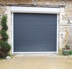 pose portes de garage enroulables devis installation With porte de garage enroulable et bloc de porte interieur