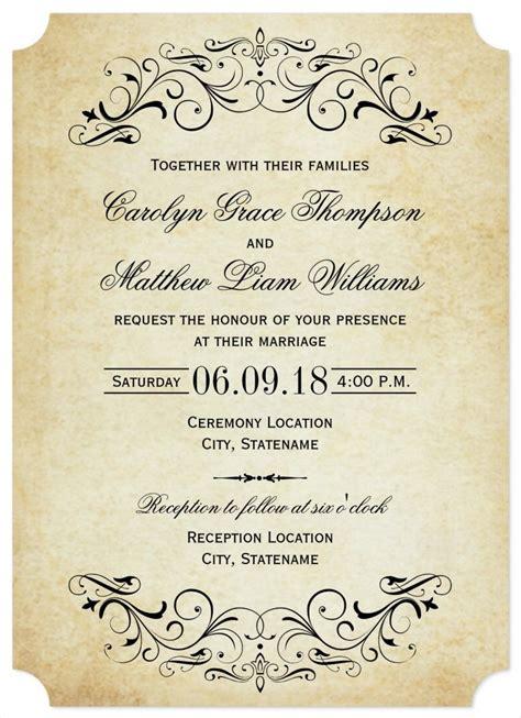 31+ Elegant Wedding Invitation Templates Free Sample