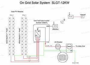 Photovoltaic Solar Electric System Solar Panel System 12kw