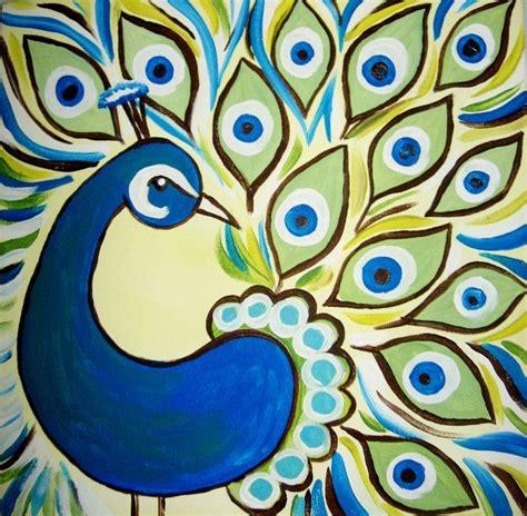 easy paintings 24 best peacock canvas ideas images on pinterest peacock canvas peacock painting and peacock