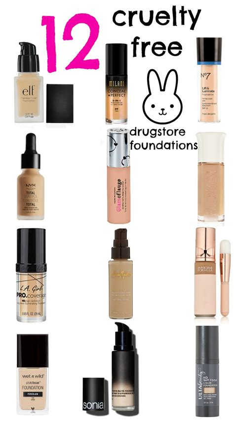 cruelty drugstore foundations