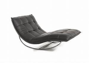 Chaise Longue De Salon : chaise longue bascule design en image ~ Teatrodelosmanantiales.com Idées de Décoration
