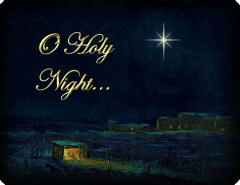 o holy o holy night the voice of one