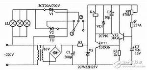 Complete Circuit Diagram Of Relay Switch  Optical Switch