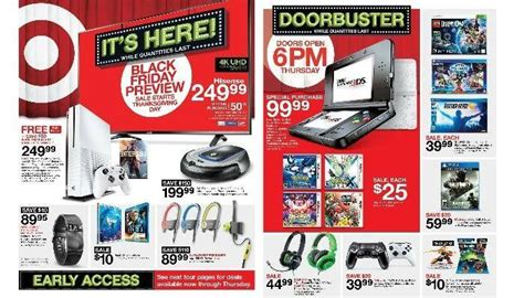 Target Black Friday Ad Scans 2018