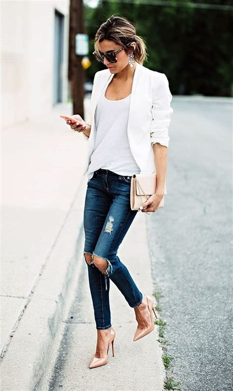 The Best Womenu0026#39;s Casual Blazer Outfit Ideas 2018 ...