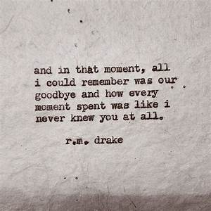 R M Drake Love Quotes. QuotesGram