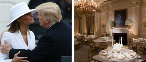 dinner state melania trump gorgeous plans decorations dailycaller