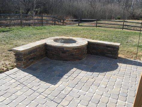 Patio On Pinterest Stone Patios Fire Pits And Stone