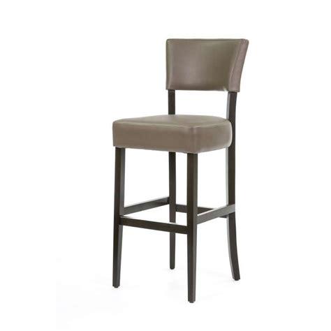 tabouret de bar en bois et synth 233 tique barsteffi 4 pieds tables chaises et tabourets
