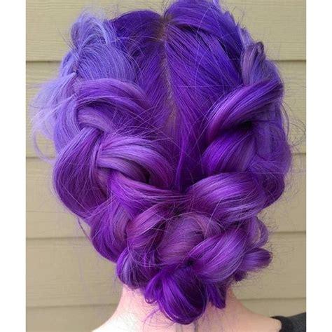 Merelise Purple Double Dutch Braid Hair By