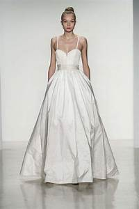 10 divine wedding dresses from amsale fall 2014 onewed With amsale wedding dress